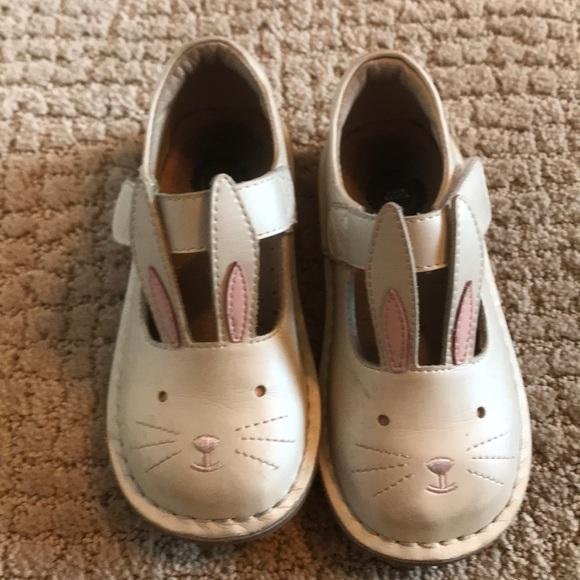 Livie Luca White Bunny Girls Toddler
